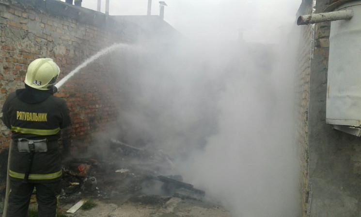 У Червонограді горіли гаражі (ФОТО)…