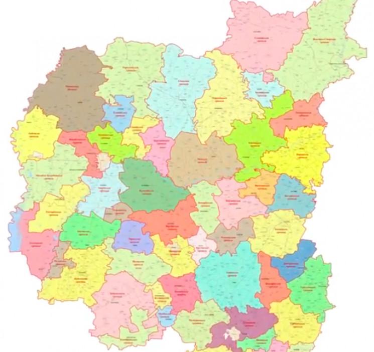 """57 ОТГ замість 22 районів: Уряд """"перекро…"""