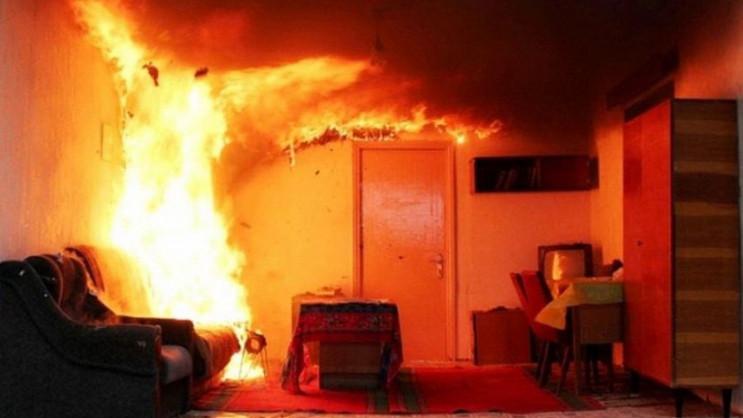 У Жовківському районі під час пожежі заг…