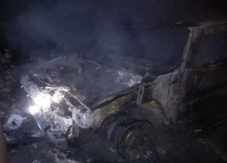 На Херсонщине ночью напрочь сгорел депут…