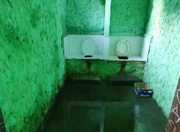 Як шокує туалет у міському парку Борисла…