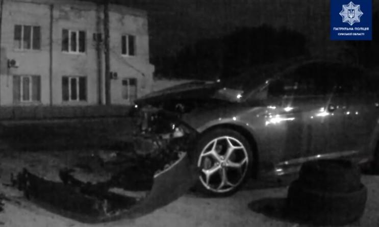 У Сумах зіткнулись Mercedes та Ford, оди…