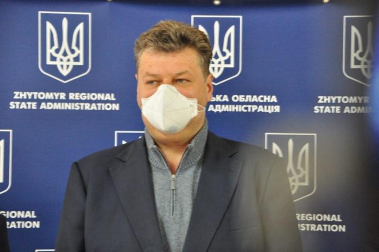 Голова Житомирської ОДА заявив, що в обл…