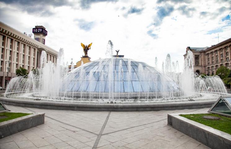 На День Києва запрацюють водограї (ГРАФІ…