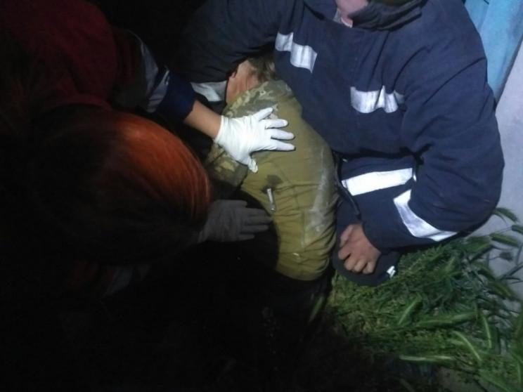 На Херсонщині жінка наштрикнулась на мет…