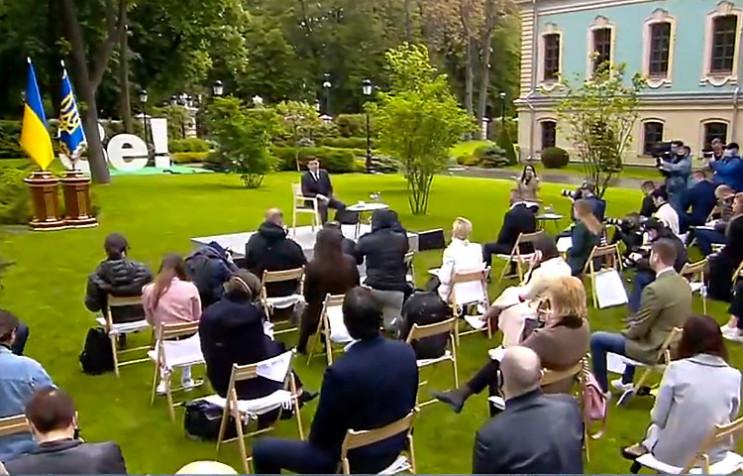 Зеленский собрал годовую пресс-конференц…
