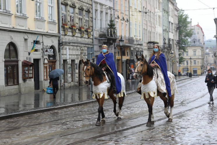 Як послаблюють карантин у Львові…