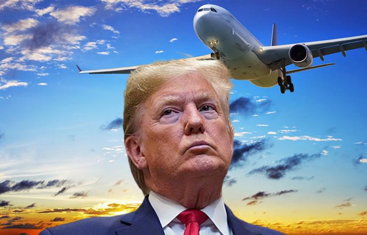 Трамп під закритим небом: З яких ще дого…
