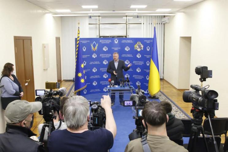 Голова облради Дніпропетровщини відповів…