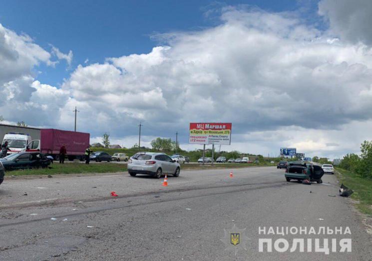 В Харківському районі сталася ДТП, серед…