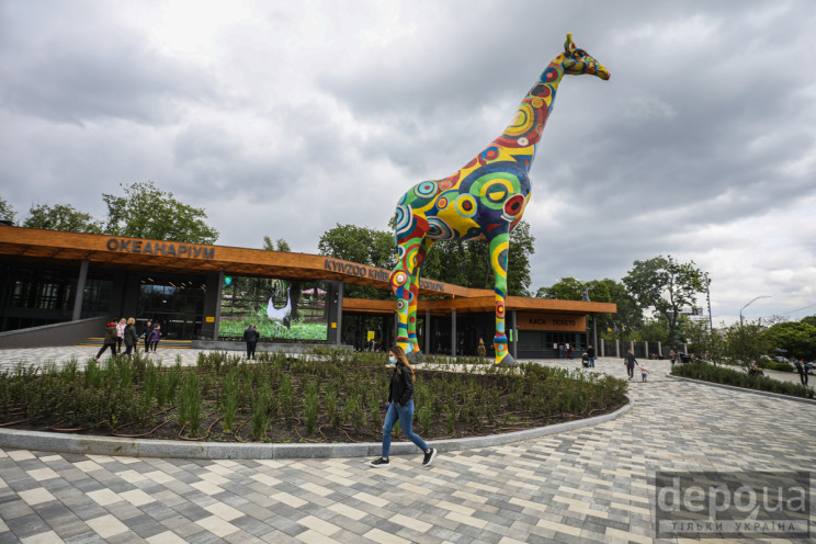 Как в Киеве после карантина открыли Зооп…