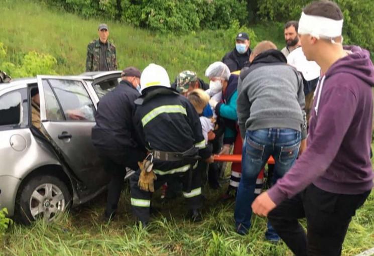 В Острозькому районі врятували 23-річну…