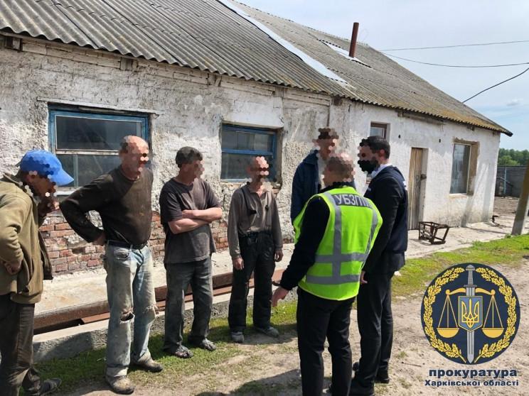 На Харківщині проводять обшуки у фермера…
