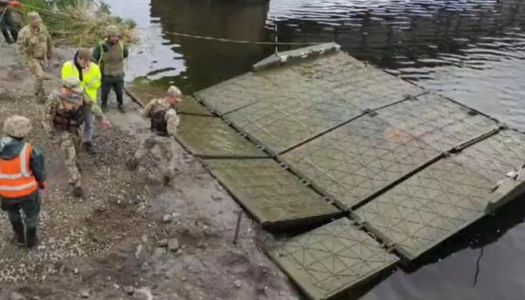 На Дніпропетровщині розгортають понтонну…