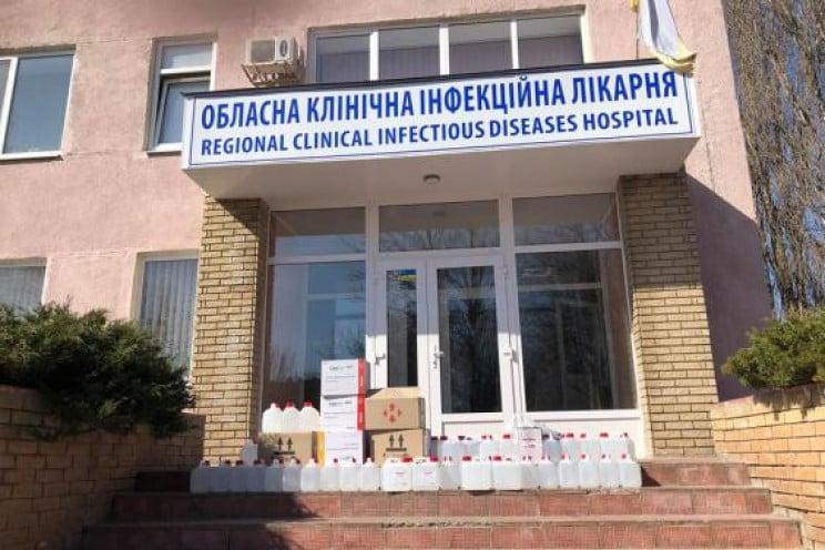 В Харькове в инфекционную больницу полож…