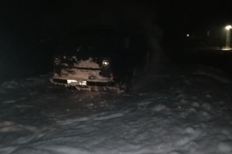 У Харкові на ходу загорівся мікроавтобус…