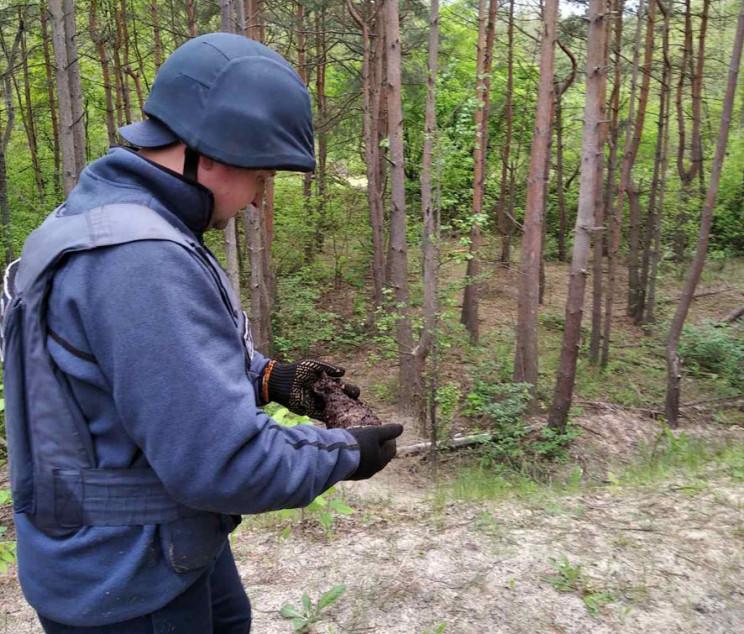 На Полтавщині знайшли майже 50 снарядів…