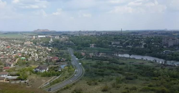 У мережі з'явилися знімки Донецька з вис…
