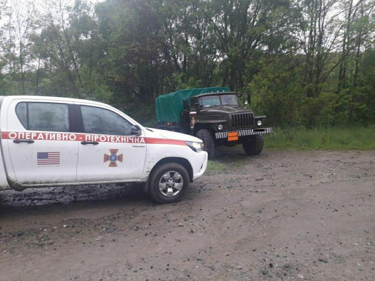На Кіровоградщині виявили 12 снарядів ча…