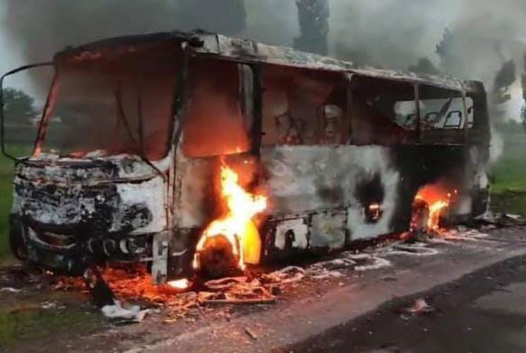 На Дніпропетровщині спалахнув рейсовий а…