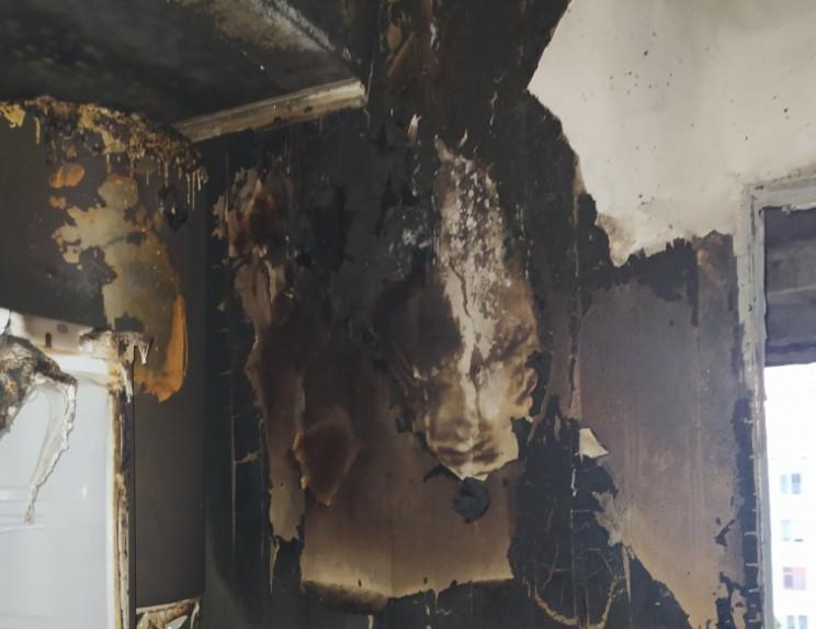 В Запорожье горела многоэтажка, с задымл…