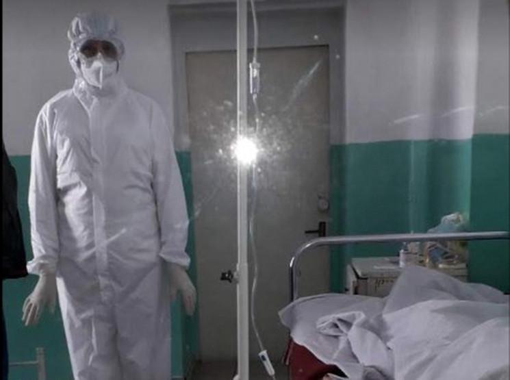 В Запорожье умер пациент с пневмонией, е…