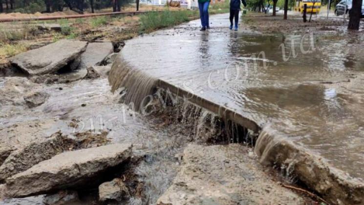 Річки та водоспади: Злива геть затопила…