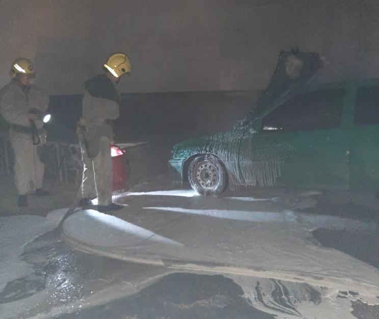 На Херсонщине ночью горела машина…