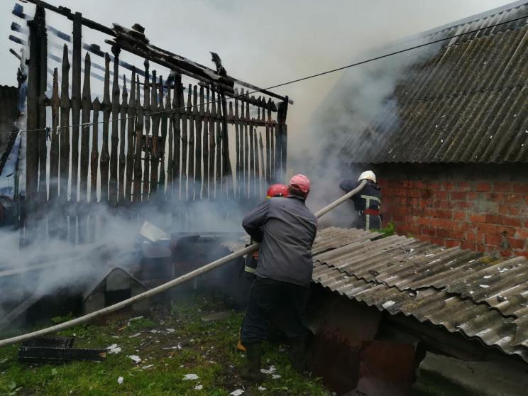 Як у Дубровицькому районі гасили пожежу…