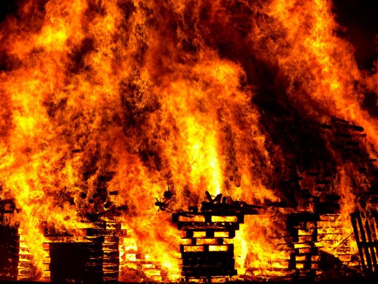 В Донецьку під час пожежі загинула 10-рі…