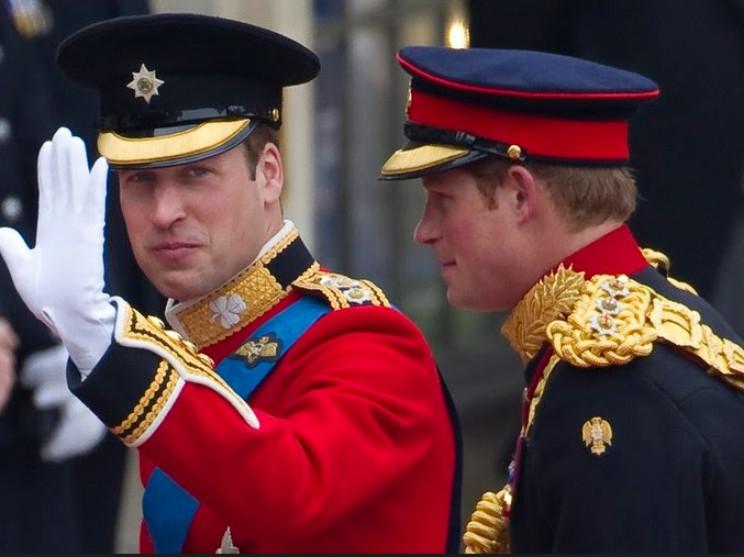 Принц Вільям радить принцу Гаррі не ризи…