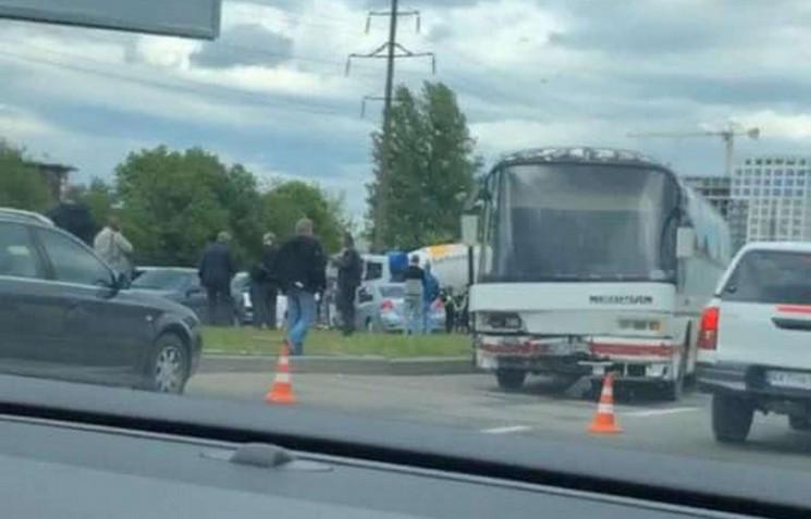 У Львові зіткнулися декілька автомобілів…