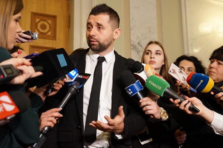 Арахамия назвал победителя выборов мэра…