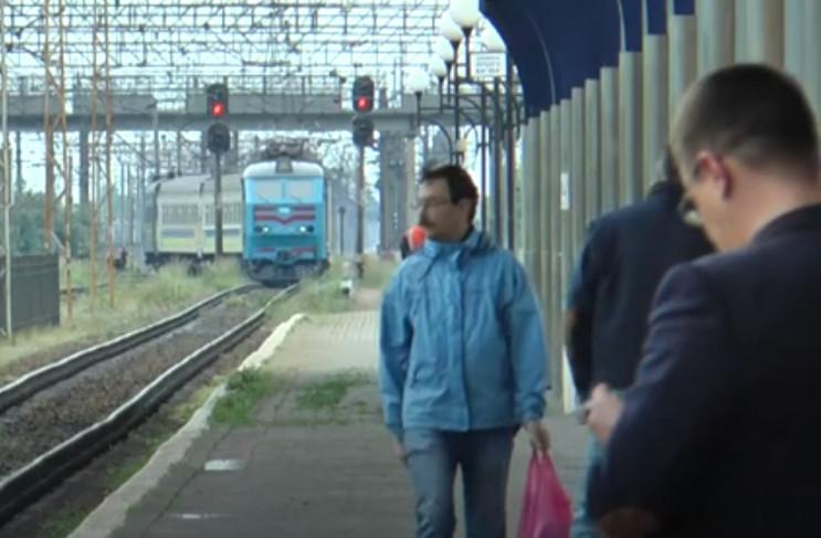 """Перший """"посткарантинний"""" потяг до Закарп…"""
