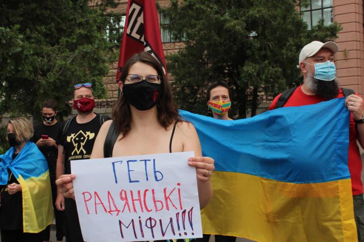 """""""Жуков кат, а не герой"""": У Харкові проте…"""