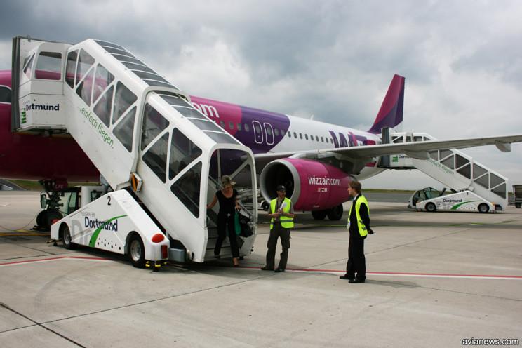 Лоукост WizzАir відкриває рейс із Запорі…