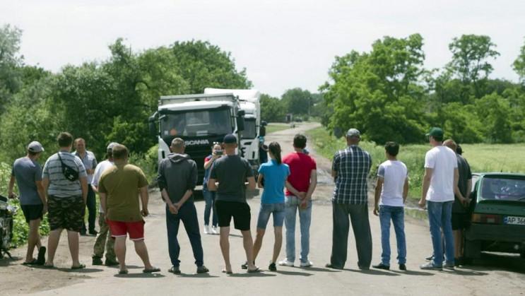 На Запоріжжі селяни перекрили рух: Через…