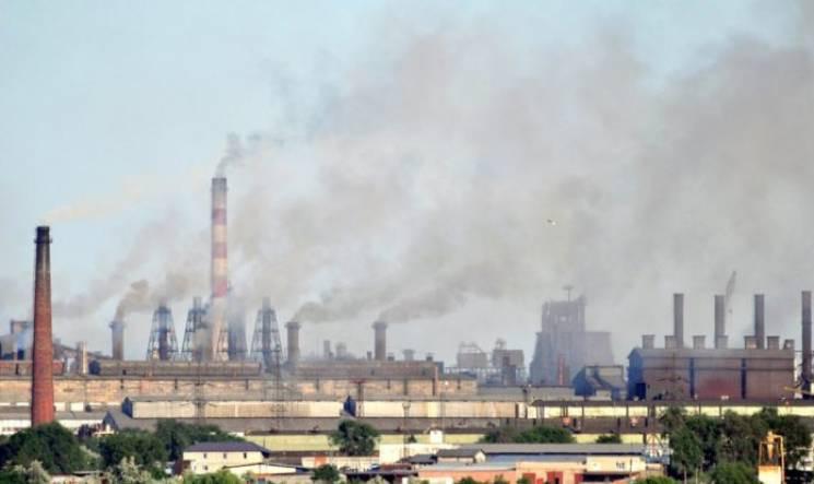 Запорожский воздух напрочь загрязнен сер…