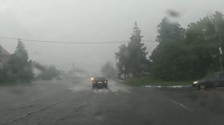 Як Червоноград затопило (ФОТО, ВІДЕО)…