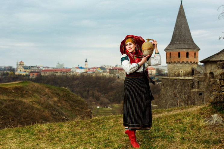 Бандуристы, рекорд бус и украинские вкус…