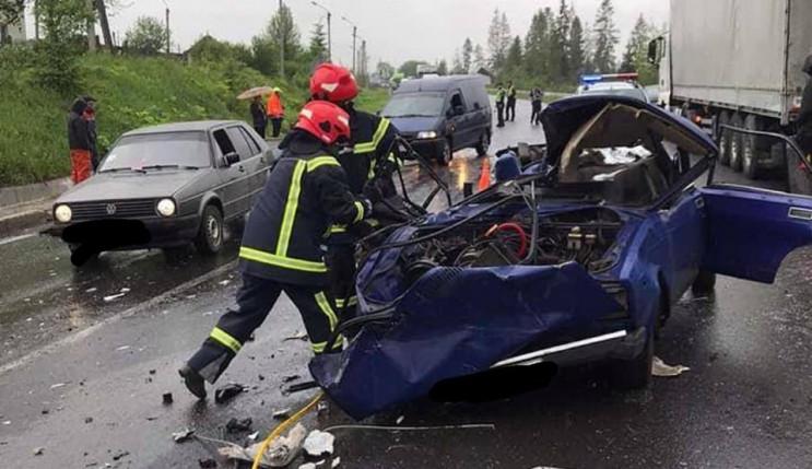 В ДТП у Сколівському районі загинула 37-…