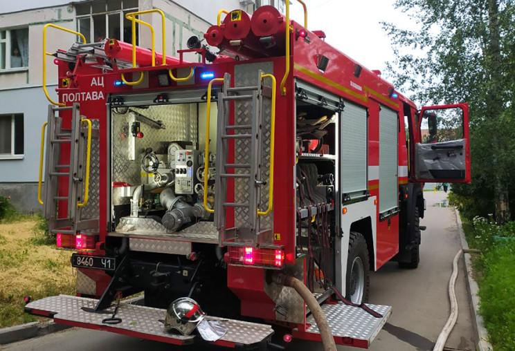 У Полтаві жінка померла внаслідок пожежі…