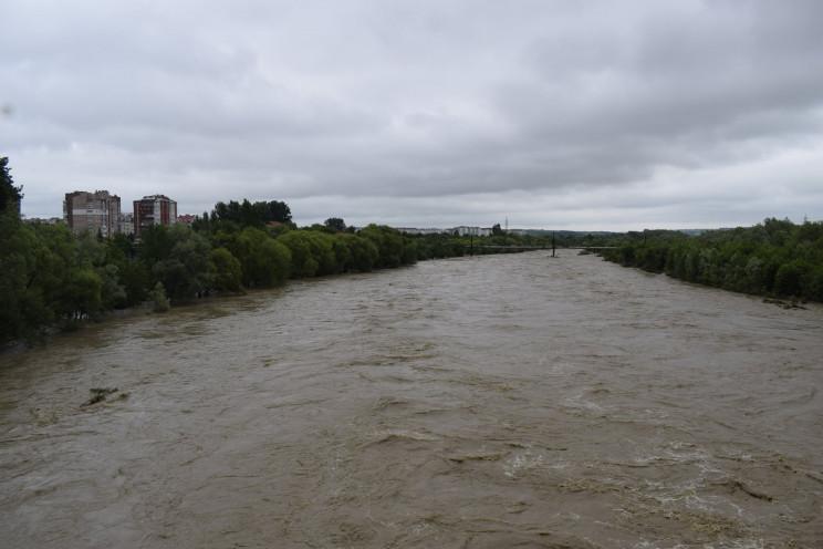 Днестр в пределах Тернопольщины может кр…