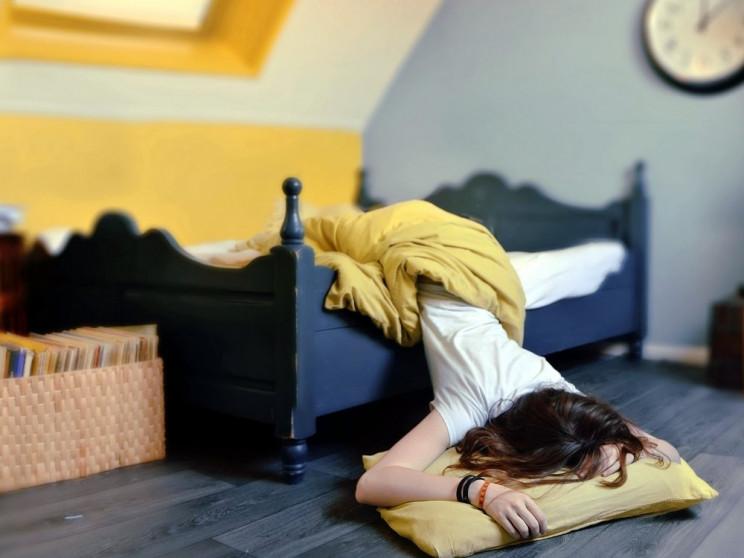 О здоровье: Почему человек может просыпа…