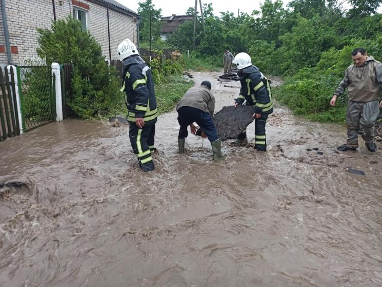 На Одещині затопило село: Мешканців та х…