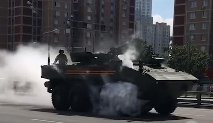 """""""Побєдобєсіє"""" на Росії: Після параду у М…"""