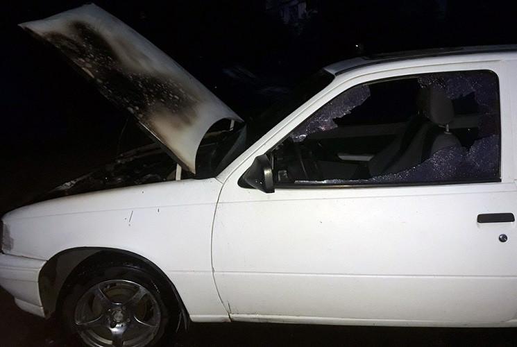 У спальному районі Дніпра горіла автівка…