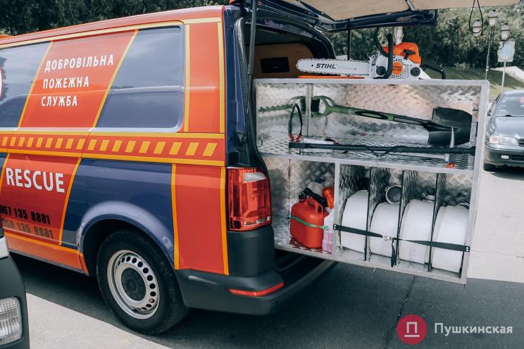 В Одесі з'явилася перша команда пожежник…