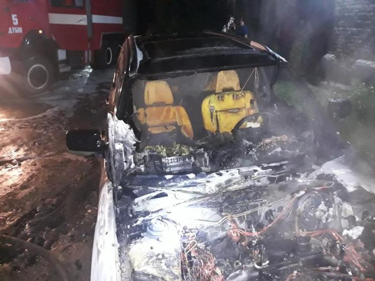 У Дубні згорів Subaru Forester (ФОТО)…