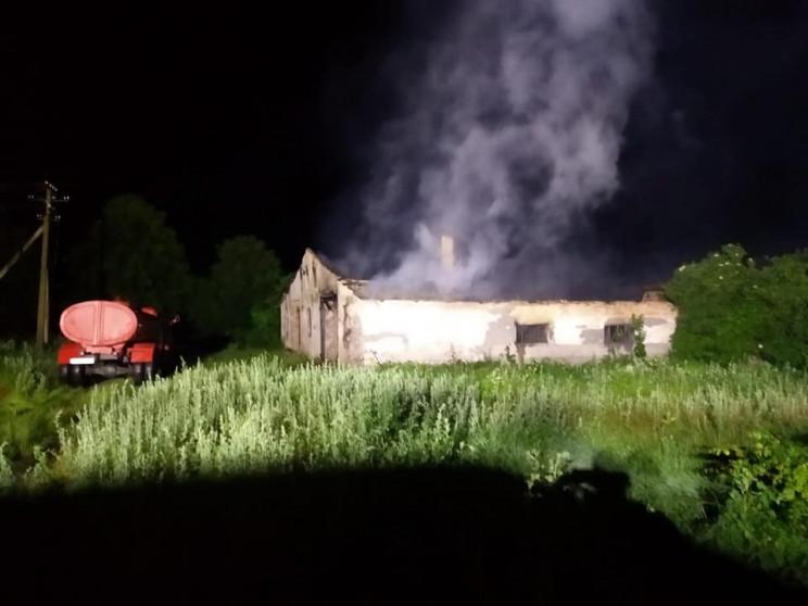 Біля Костополя загасили пожежу у величез…